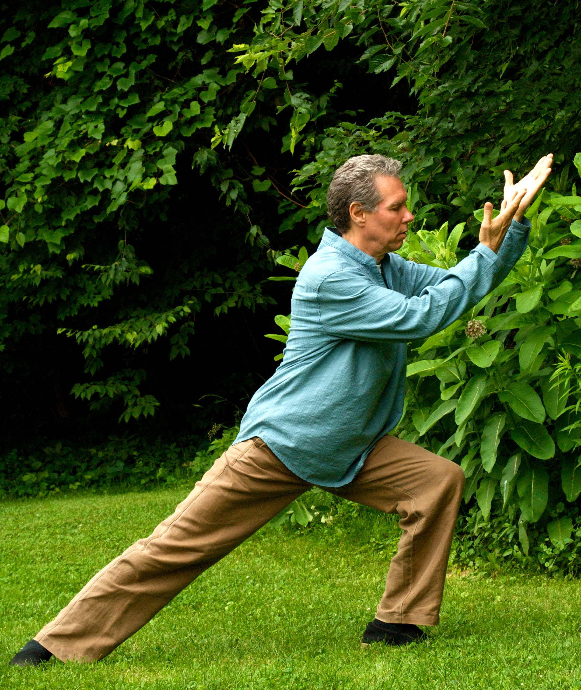 Dr Jahnke Doing Tai Chi